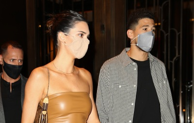 Kendall Jenner and Devin Booker were seen heading out for dinner in NYC 5