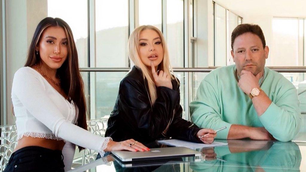 Tara Electra, Tana Mongeau, and David Weintraub