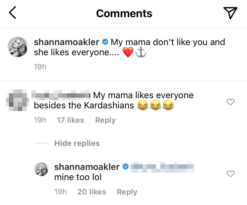Shanna Moakler Comment