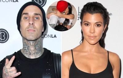Travis Barker Says He 'Loves' Girlfriend Kourtney Kardashian in NSFW Birthday Tribute