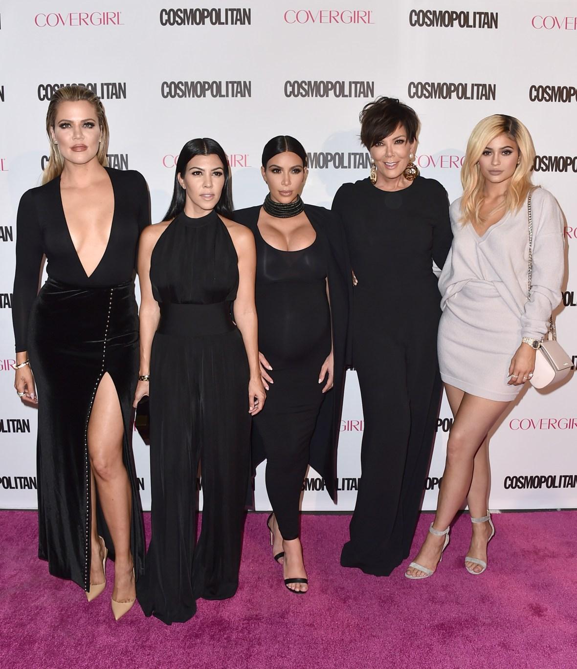 Photos of All the Kardashian-Jenners Together: Kim, Kylie, Khloe, Kourtney Kendall 2