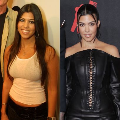 Kourtney Kardashian Transformation Photos Young to Now