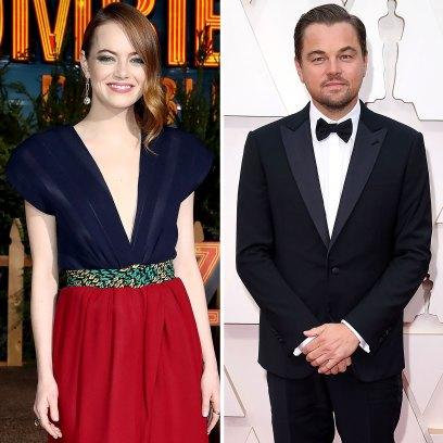 Emma Stone Admits Childhood Crush On Leonardo DiCaprio