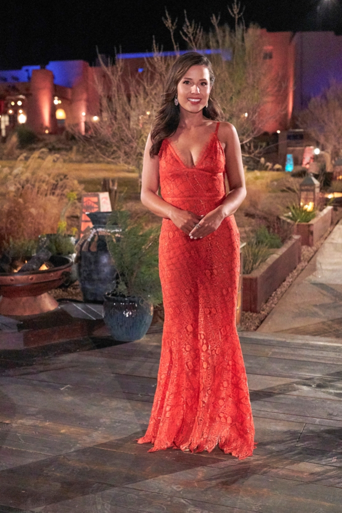 Katie Thurston Goes 'Lady in Red' for Her Premiere Dress — See the Gown!