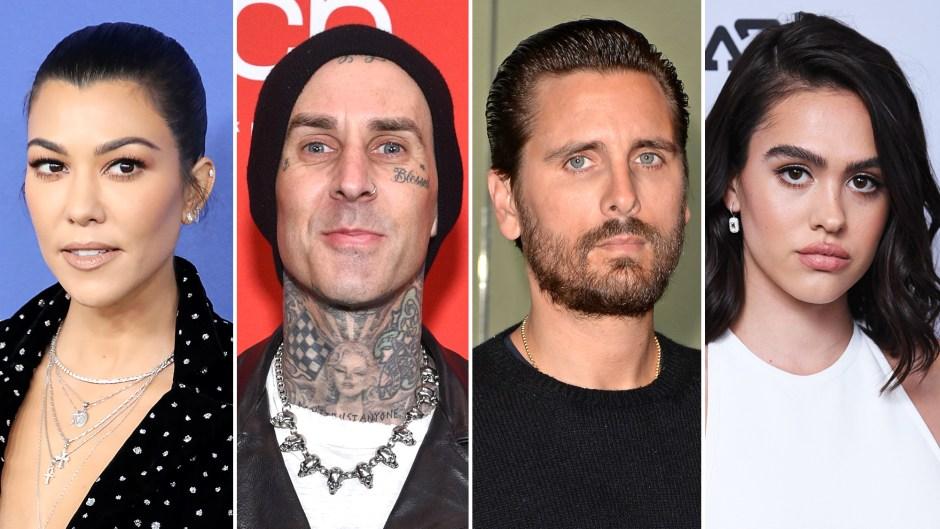 Kourtney Kardashian's Boyfriend Travis Barker 'Likes' Shady Comment About Scott Disick's Girlfriend Amelia