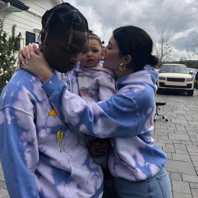 The Sweetest Trio! Kylie Jenner and Travis Scott's Cutest Family Photos With Stormi Webster