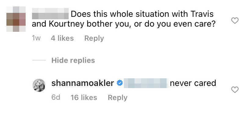 Shanna Moakler Reveals If Kourtney Kardashian and Boyfriend Travis Barker's PDA 'Bothers' Her