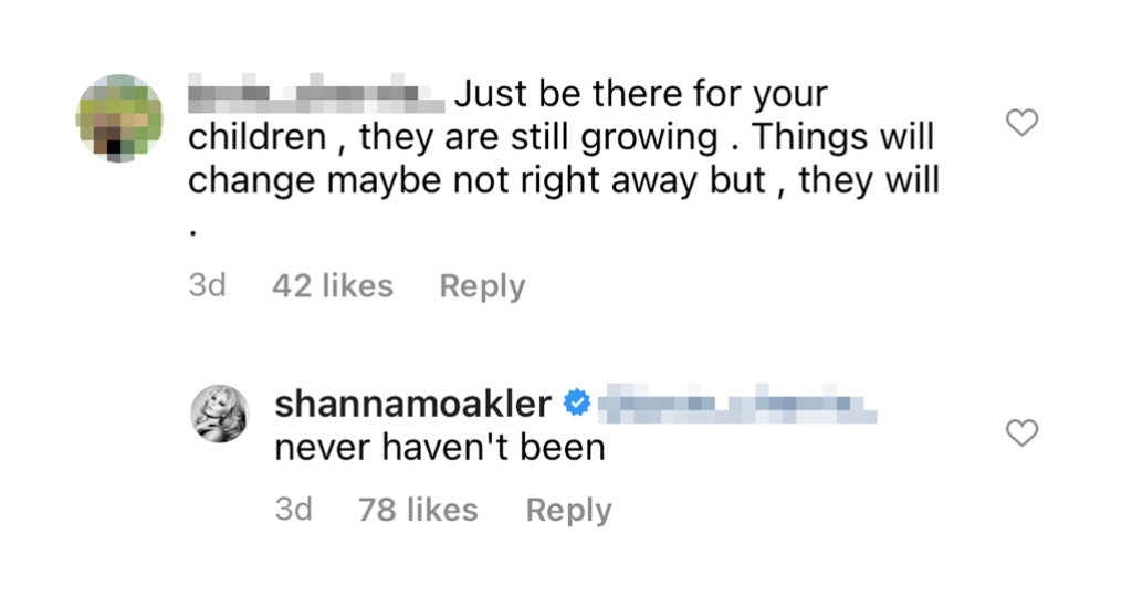 Shanna Moakler Claims She Has Always Been There Her Kids Shady Comment Amid Feud