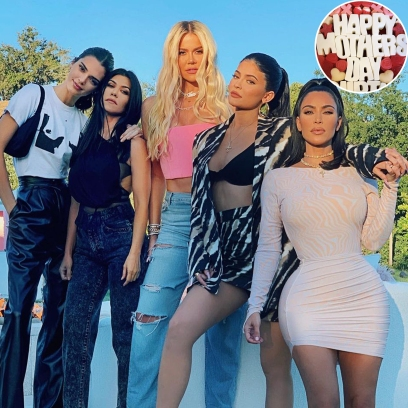 This Year's Kardashian-Jenner Mother's Day Celebrations Are Cozy and Cute — See Photos!