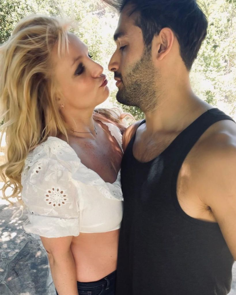 Britney Spears and Boyfriend Sam Asghari 'Love Doing Normal Things' Together: 'It Works Out Well'