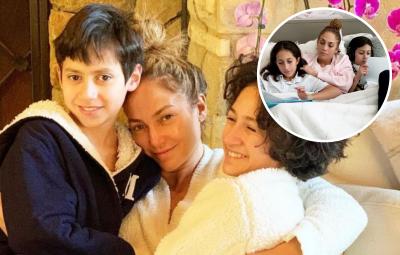 Jennifer Lopez Kids Max Emme Photos