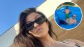 Kourtney Kardashian, Travis Barker, Her Kids Enjoy MDW Party