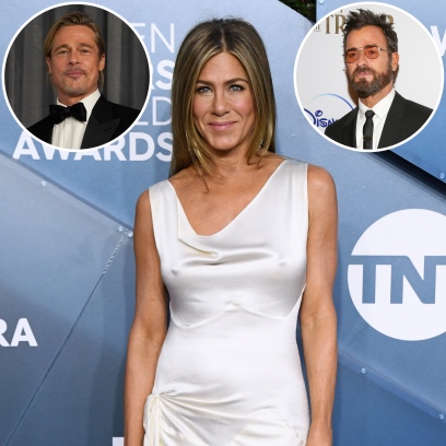 Jennifer Aniston's Engagement Rings: Brad Pitt, Justin Theroux