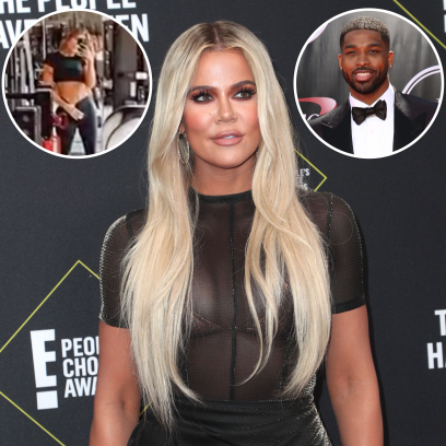 Khloe Kardashian Flaunts Abs, Listens to Breakup Song Amid Split