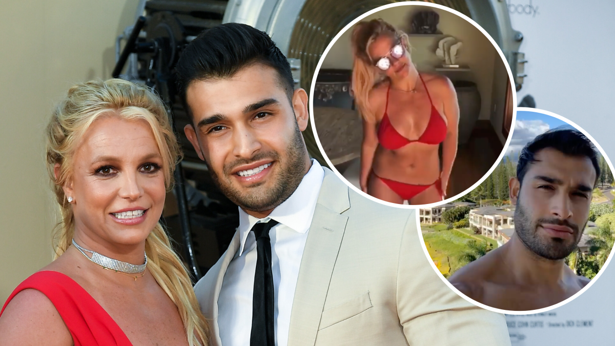 PICTURE EXCLUSIVE: Britney Spears shows off her bikini