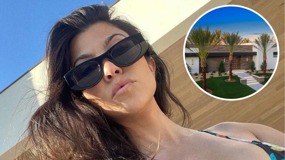 Kourtney Kardashian's Palm Springs Home Cost a Pretty Penny — Take a Tour!