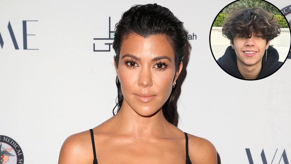 Kourtney Kardashian and Boyfriend Travis Barker's Son Landon Already Have Inside Jokes Together