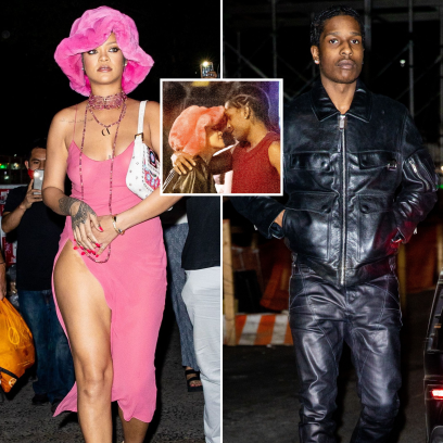 Rihanna and Boyfriend ASAP Rocky Pack On the PDA During Fun-Filled Date Night at Barcade in NYC
