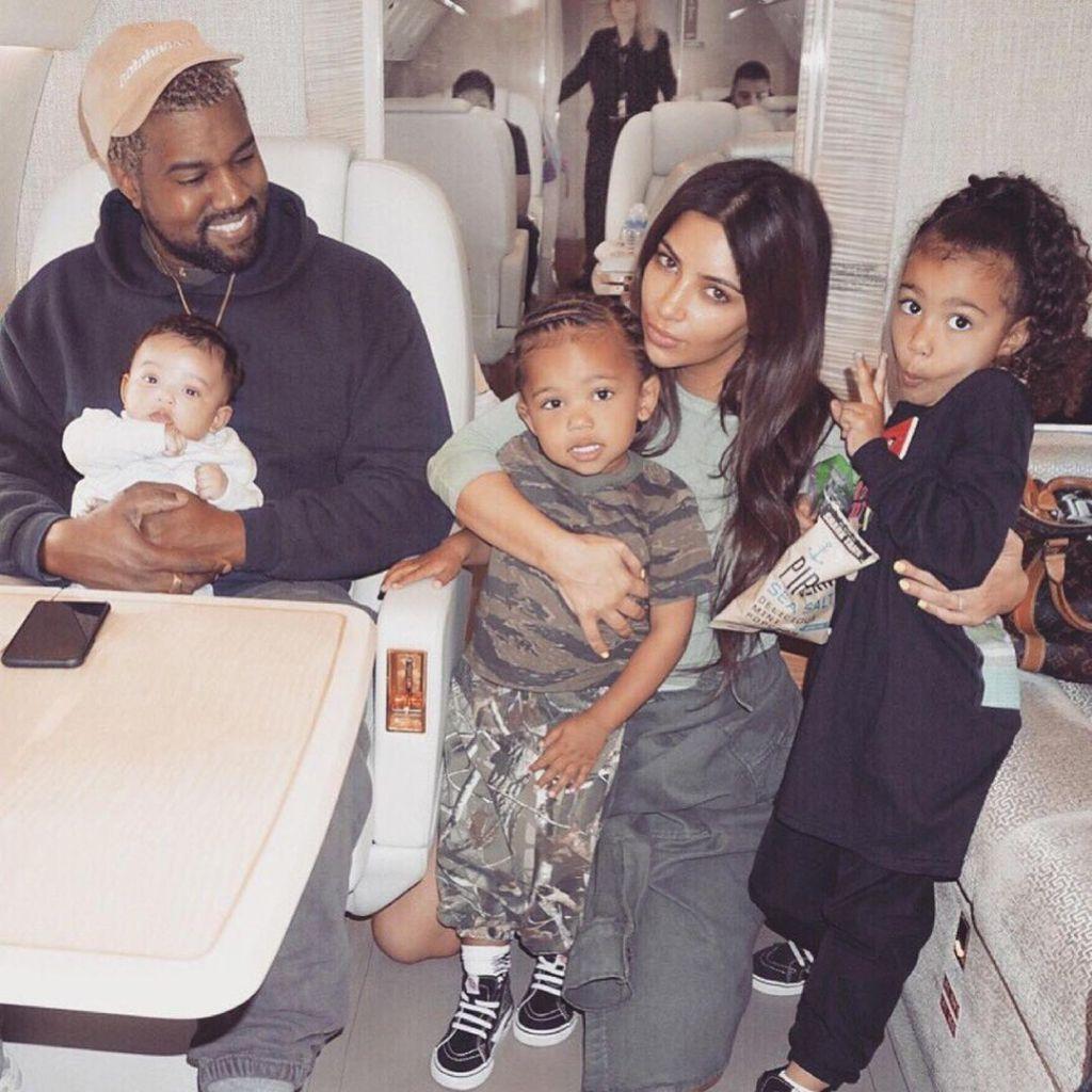 Kim Kardashian Kanye West Birthday Tribute