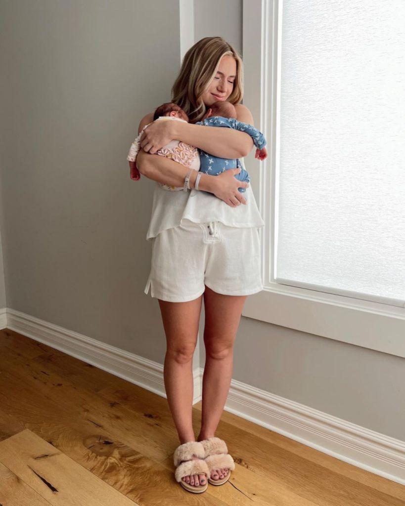 Arie Luyedyk Lauren Burnham Twins Senna Lux Name Meaning