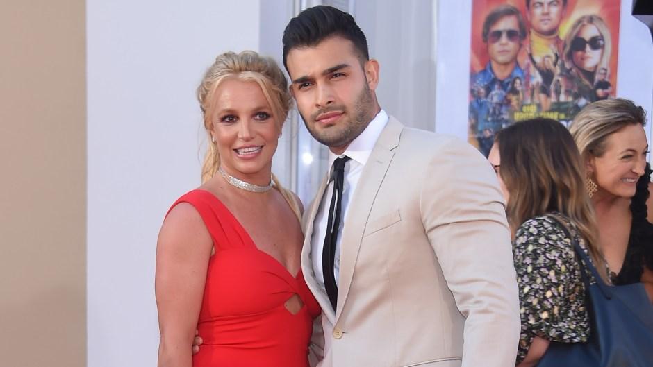 Britney Spears' Boyfriend Sam Asghari Is 'Very Supportive'