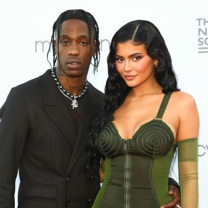 Kylie Jenner, Travis Scott Attend NYC Event With Stormi: Photos 5