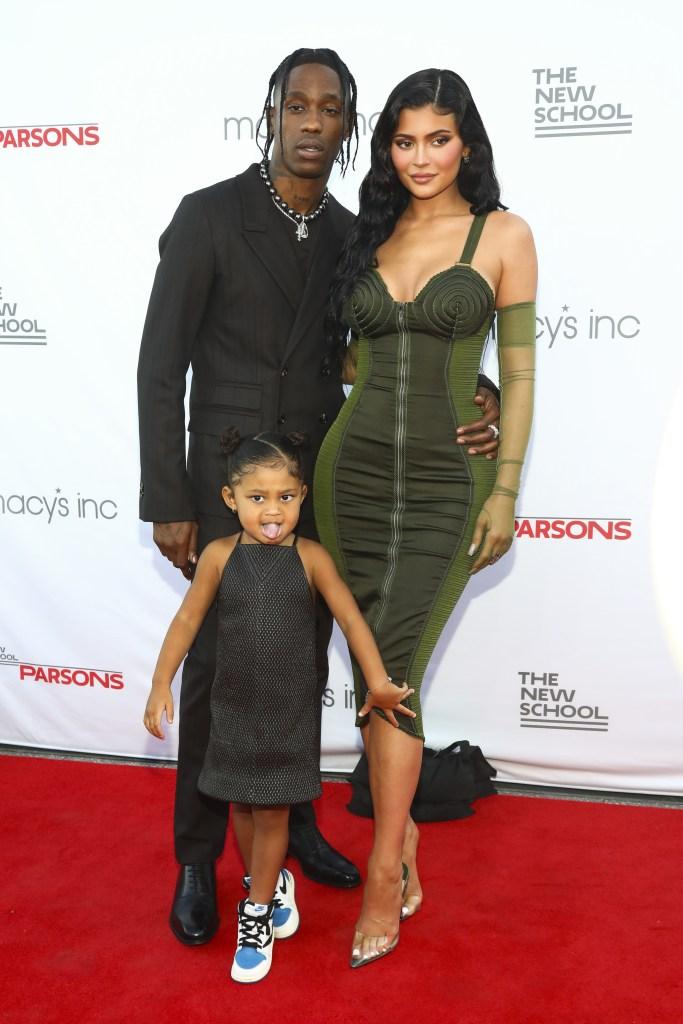 Kylie Jenner, Travis Scott's Daughter Stormi 'Isn't Camera Shy'