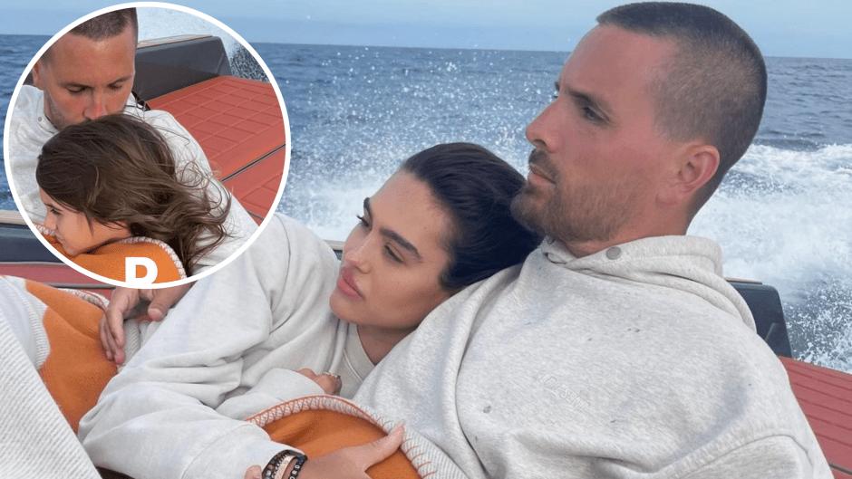Scott Disick Has Boat Day With Amelia Gray Hamlin, Penelope