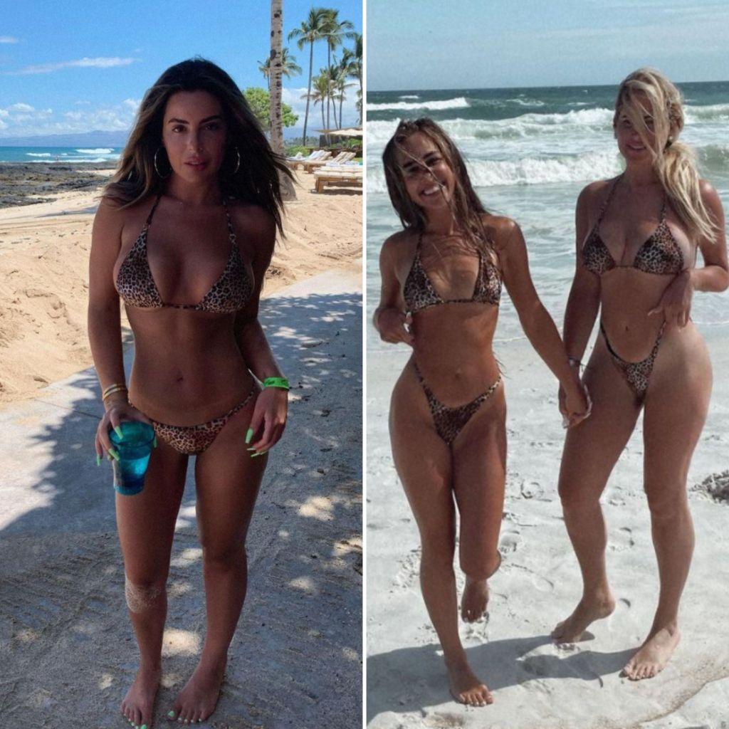 Brielle Bierman Twins Bikini Mom Sister
