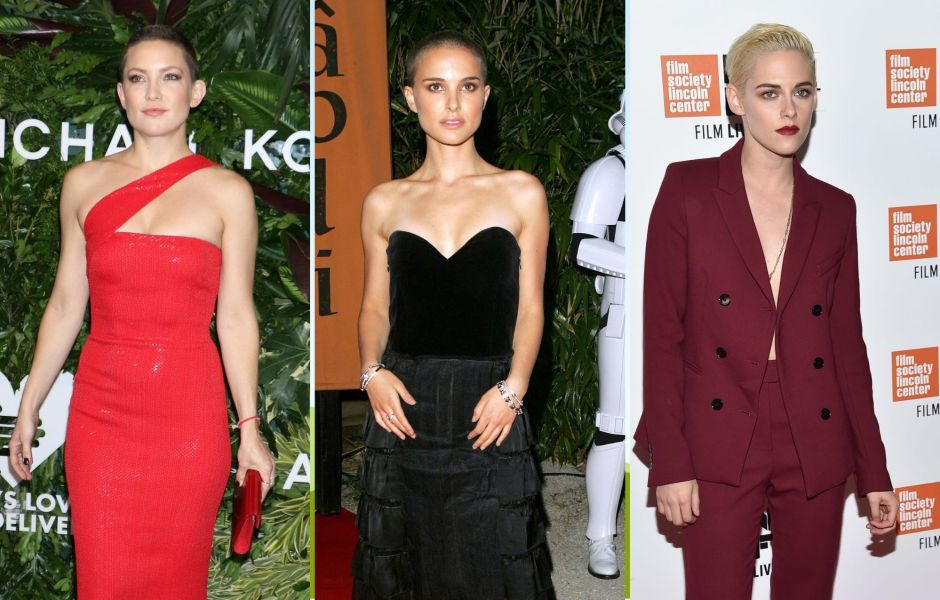 Stars Who Shaved Their Heads Photos
