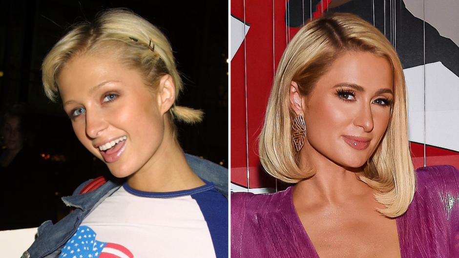 Paris Hilton Transformation Young to Now