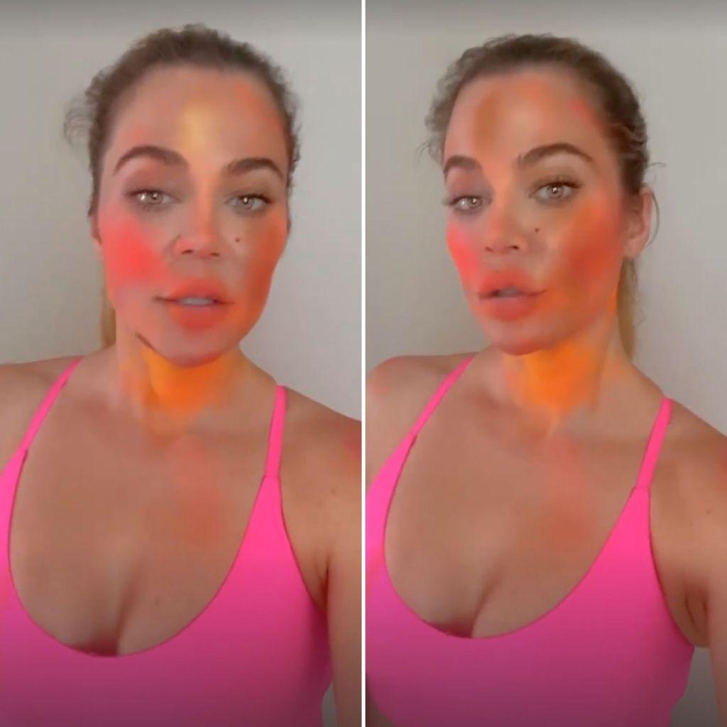Khloe Lets True Dream Do Her Makeup
