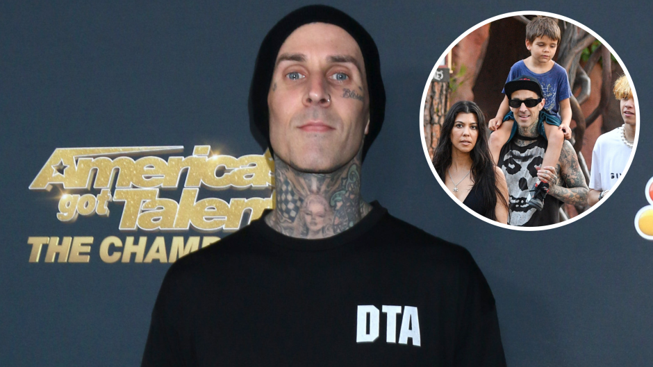 Kourtney Kardashian's Kids Are 'Obsessed' With Travis Barker: 'He's Always Doing Fun Things for Them'