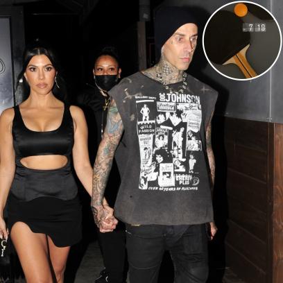 Kourtney Kardashian Brags About Beating Boyfriend Travis Barker in Ping-Pong on Date Night