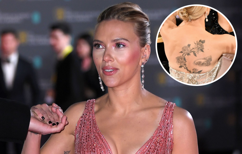 Scarlett Johansson Has a Surprising Number of Tattoos! See Photos and Find Out What They Mean