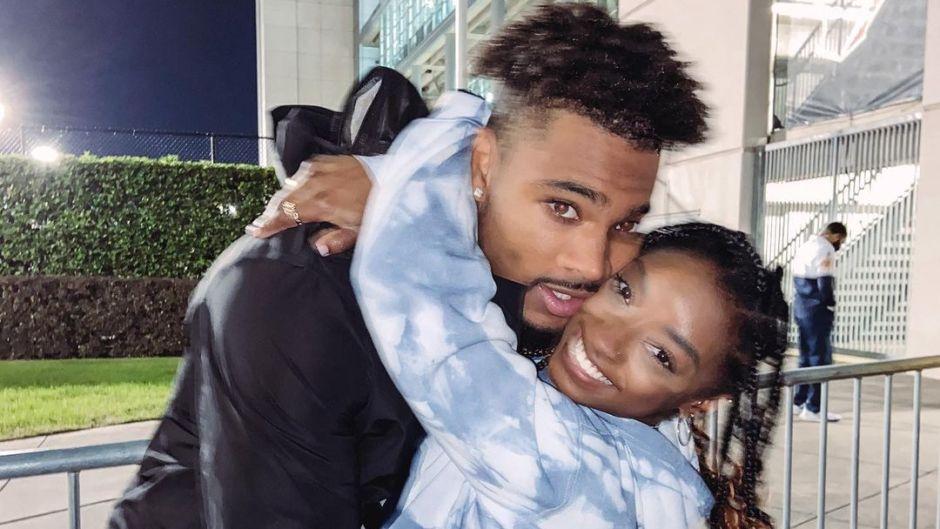 Simone Biles and Boyfriend Jonathan Owens Love Packing On the PDA! See Their Cutest Photos So Far