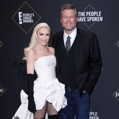 Blake Shelton Was 'Blown Away' By Gwen Stefani's Wedding Look