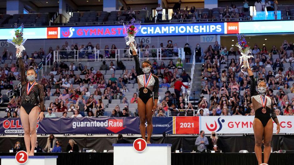 U.S. Gymnastics Team Net Worths: Simone Biles Sunisa Lee Jordan Chiles Grace McCallum MyKayla Skinner Jade Carey