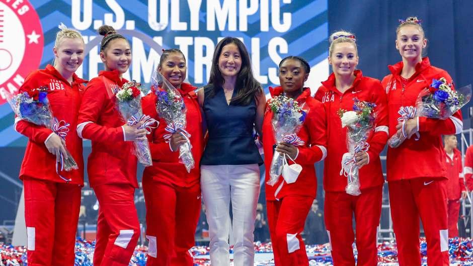 How Tall Is the U.S. Olympics Gymnastics Team?