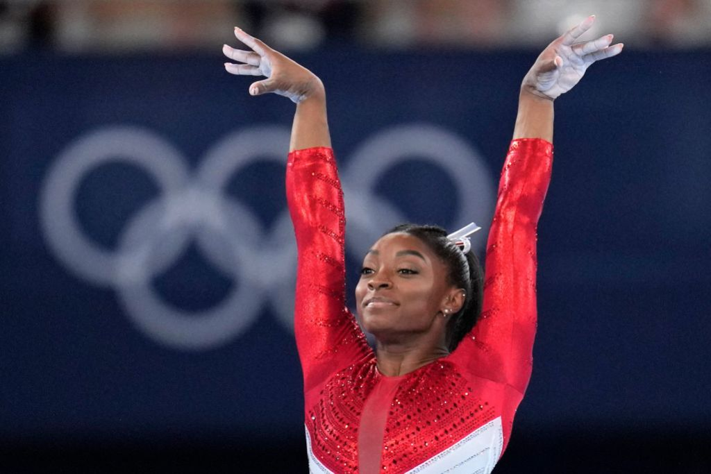 Simone Biles' Biological Mom Gives Statement After Olympics