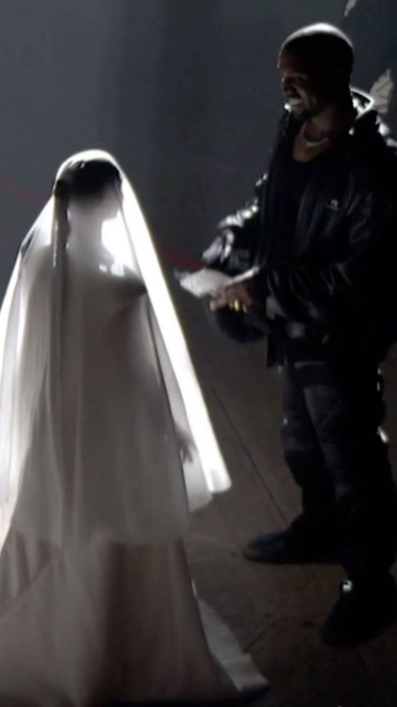 Kylie Jenner Supports Kim Kardashian Appearing as a Bride for Kanye West's 'Donda' Listening Party