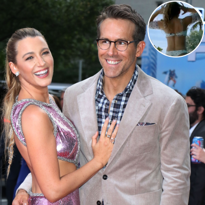 Blake Lively Shares a Cheeky Bikini Photo in Support of Husband Ryan Reynolds' New Movie 'Free Guy'