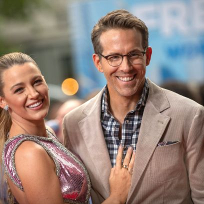 Blake Lively Stuns in a Cut-Out Dress Alongside Husband Ryan Reynolds at 'Free Guy' Movie Premiere