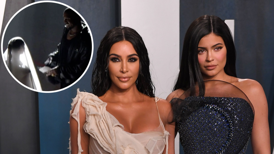 Kylie Jenner Supports Kim as a Bride at Kanye 'Donda' Event