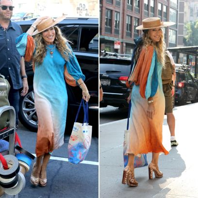 Sarah Jessica Parker And Just Like That Outfits