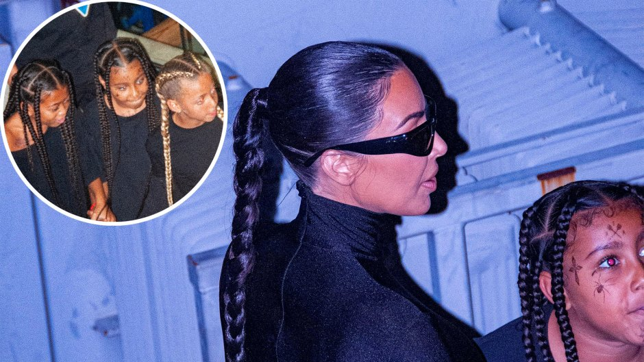 Kim K. Supports Kanye West at 2nd Album Listening Party Amid Divorce