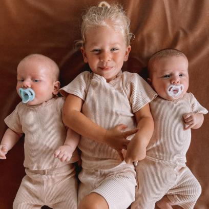 Arie and Lauren Luyendyk's Twins Photos