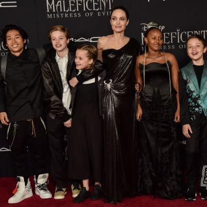 Angelina Jolie and Brad Pitt Kids' Ages: Shiloh, Zahara, More