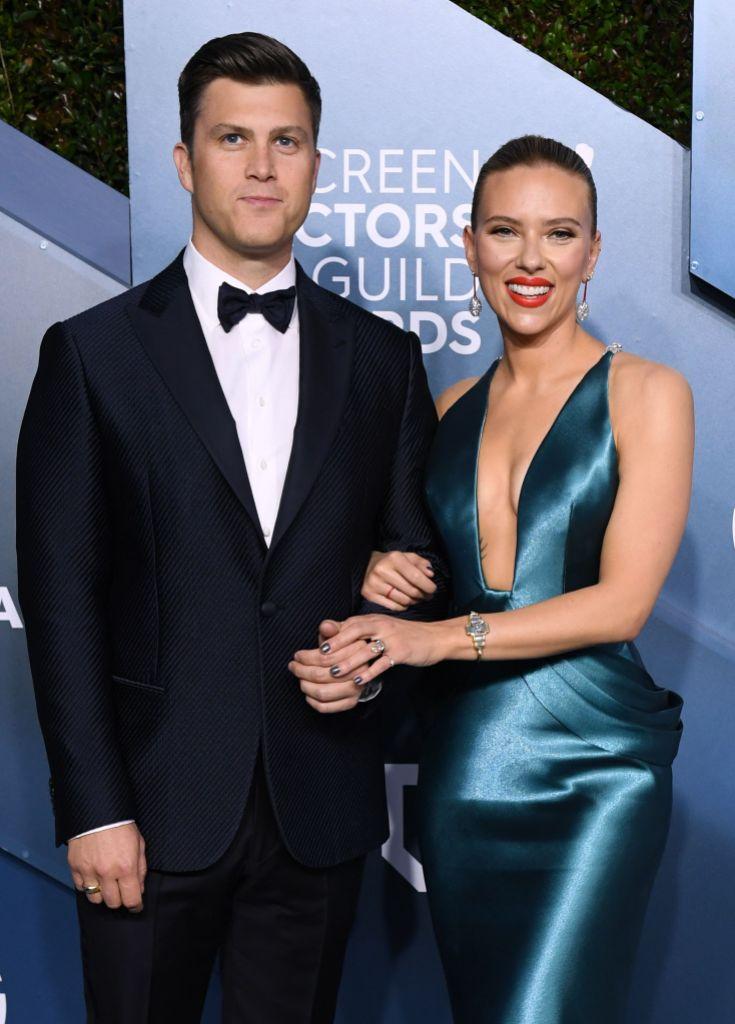Scarlett Johansson Gives Birth Colin Jost