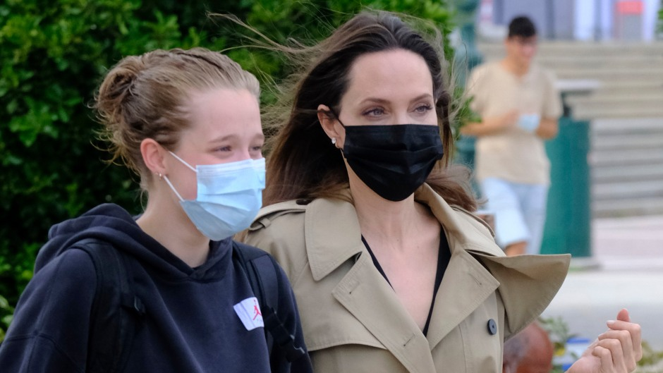Angelina Jolie Daughter Shiloh Venice Italy Outing